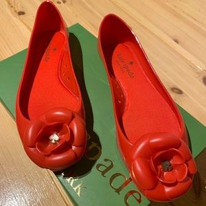 Authentic Kate Spade jelly flats